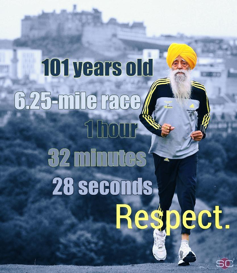 101 Year Old Running