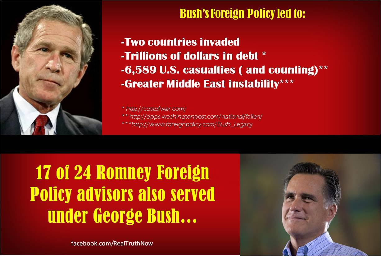 17 of 24 Foreign Policy Advisors The Same
