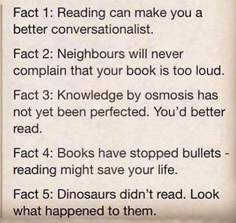 5 Reasons To Read