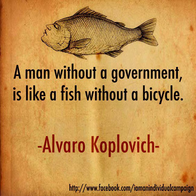 A Man Without A Government