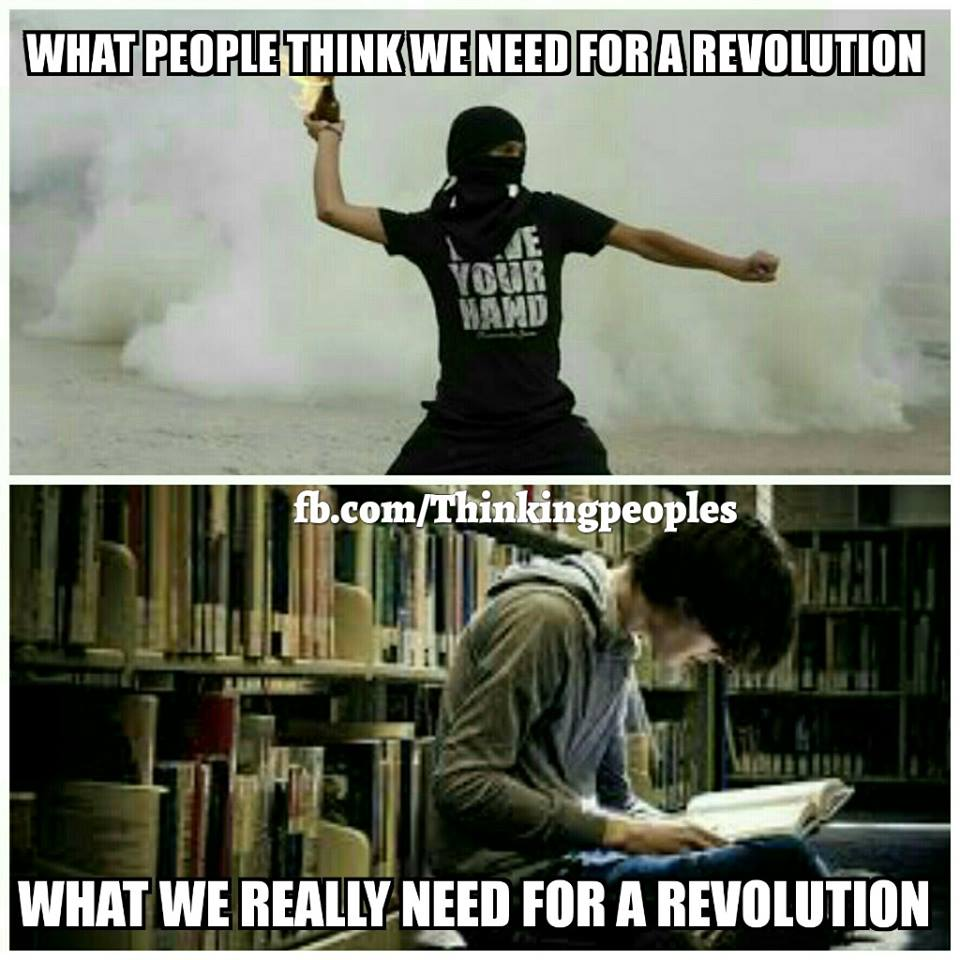 A Revolution Needs