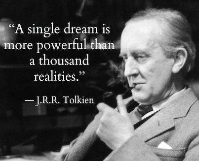 A Single Dream Is More Powerful Than A Thousand Realities