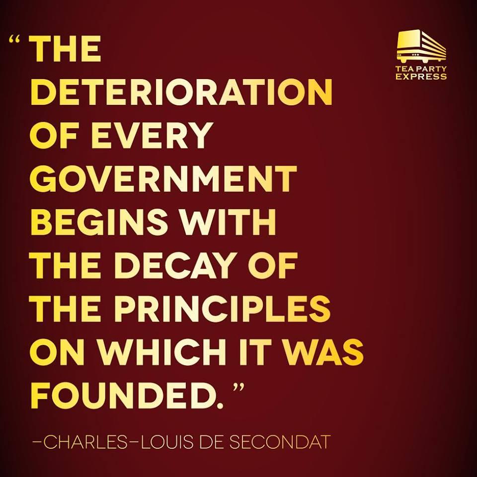 Abandonment Of Principles