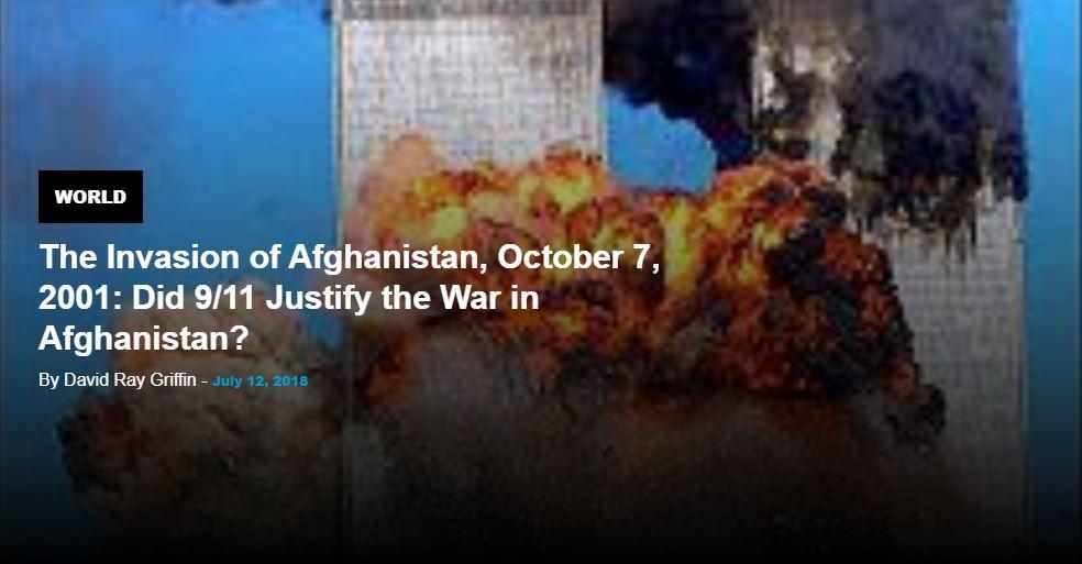 Afghan War Justified