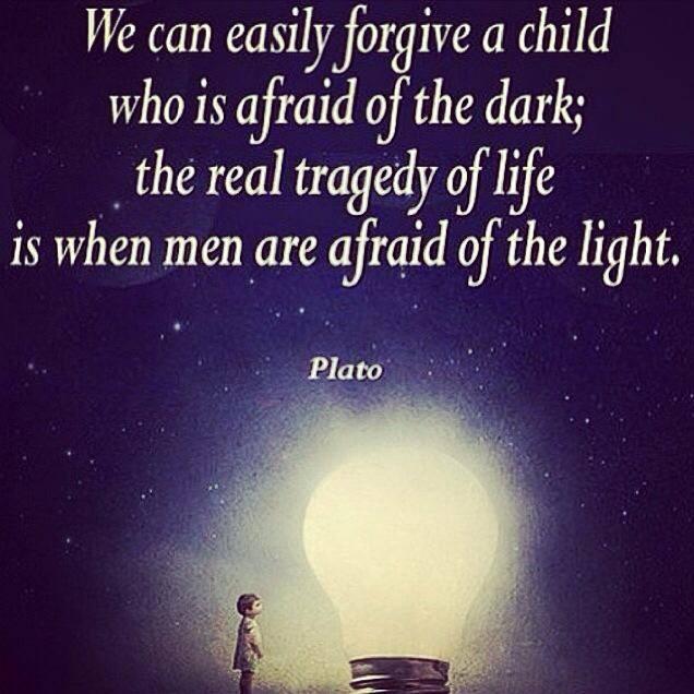 Afraid Of The Light