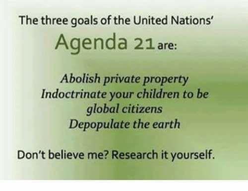 Agenda 21 Goals