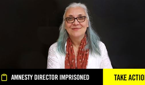 Amnesty Director Imprisoned