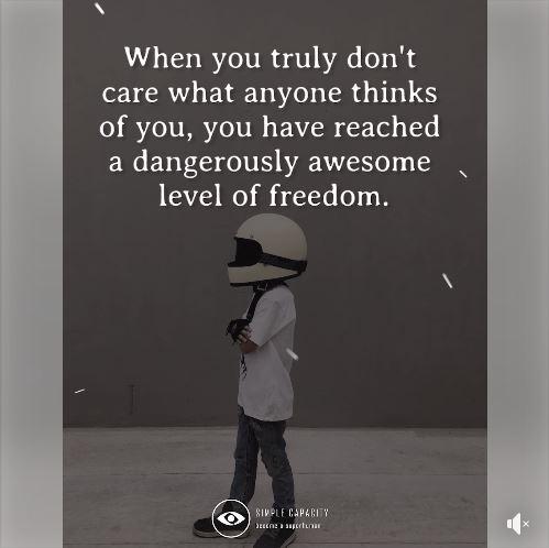 Dagerously Awesome Level Of Freedom