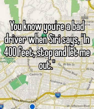 Bad Driver Alert