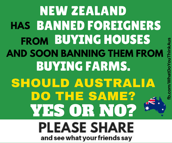 Ban Foreign Ownership