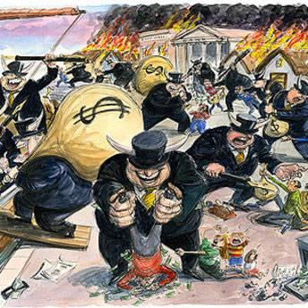 Banksters Fleecing