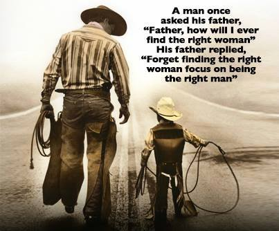 Be The Right Man