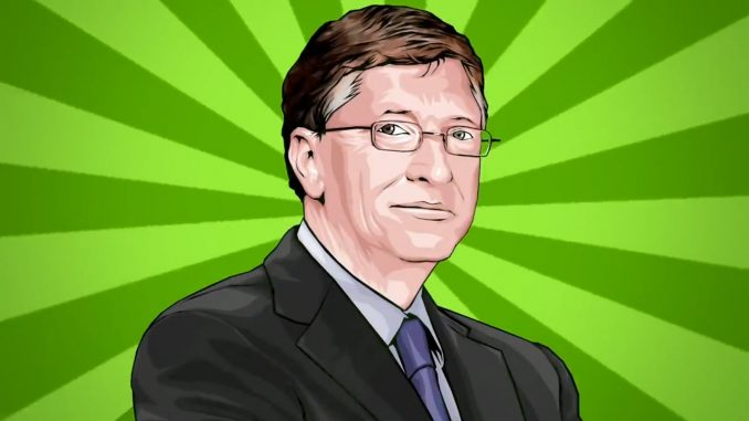 Bill Gates Superhero