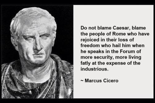 Blame Not Caesar