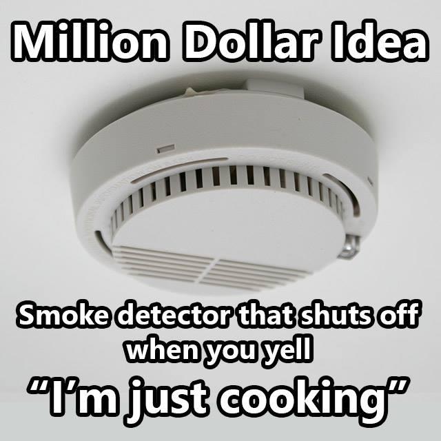 Brilliant Idea For Smoke Detector