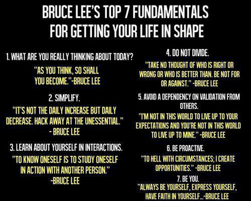 Bruce Lee Tips