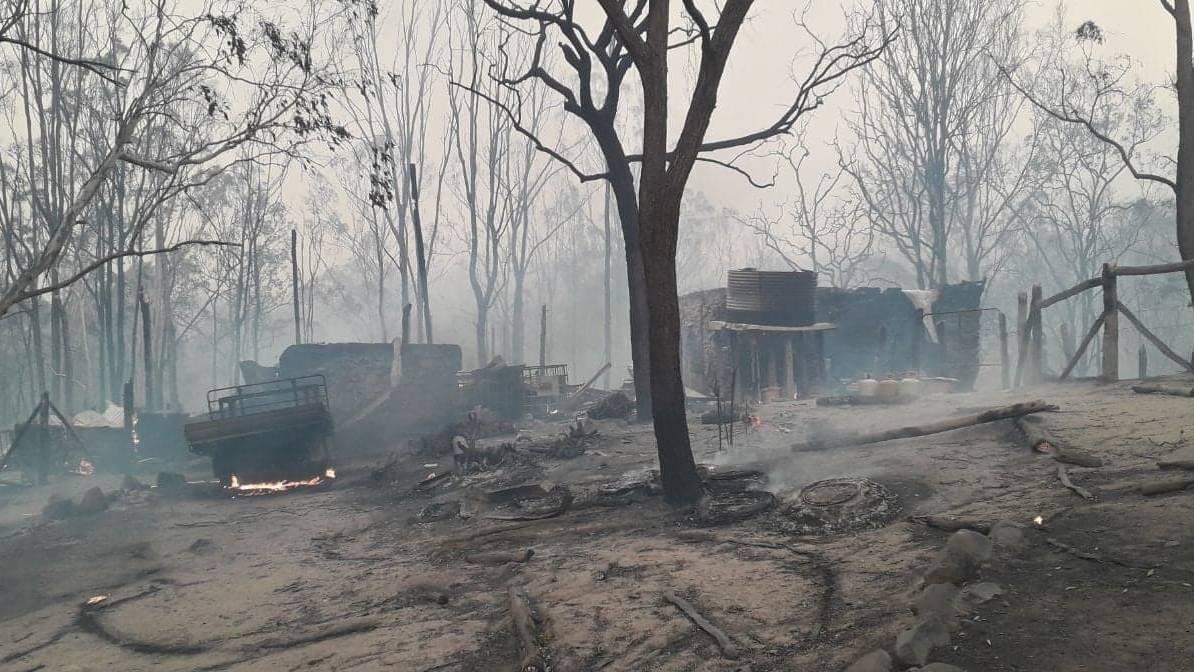Burnt Scene