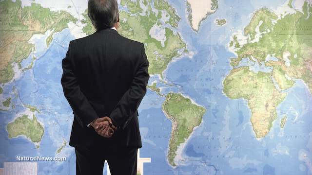 Business-Man-World-Map
