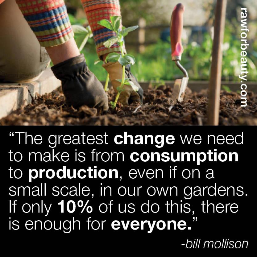 Change From Consumption To Production