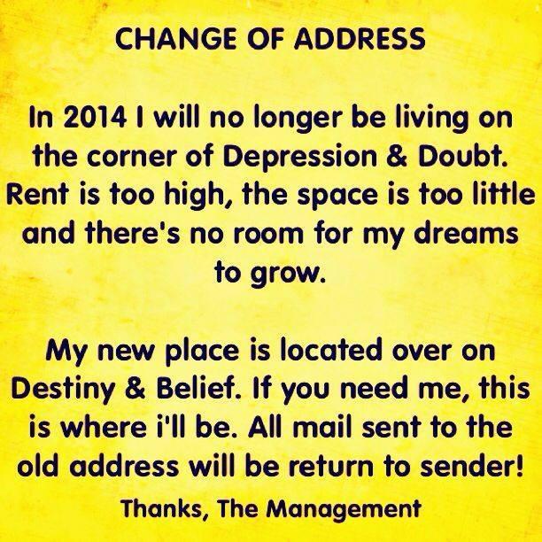 Change Of Address Notice