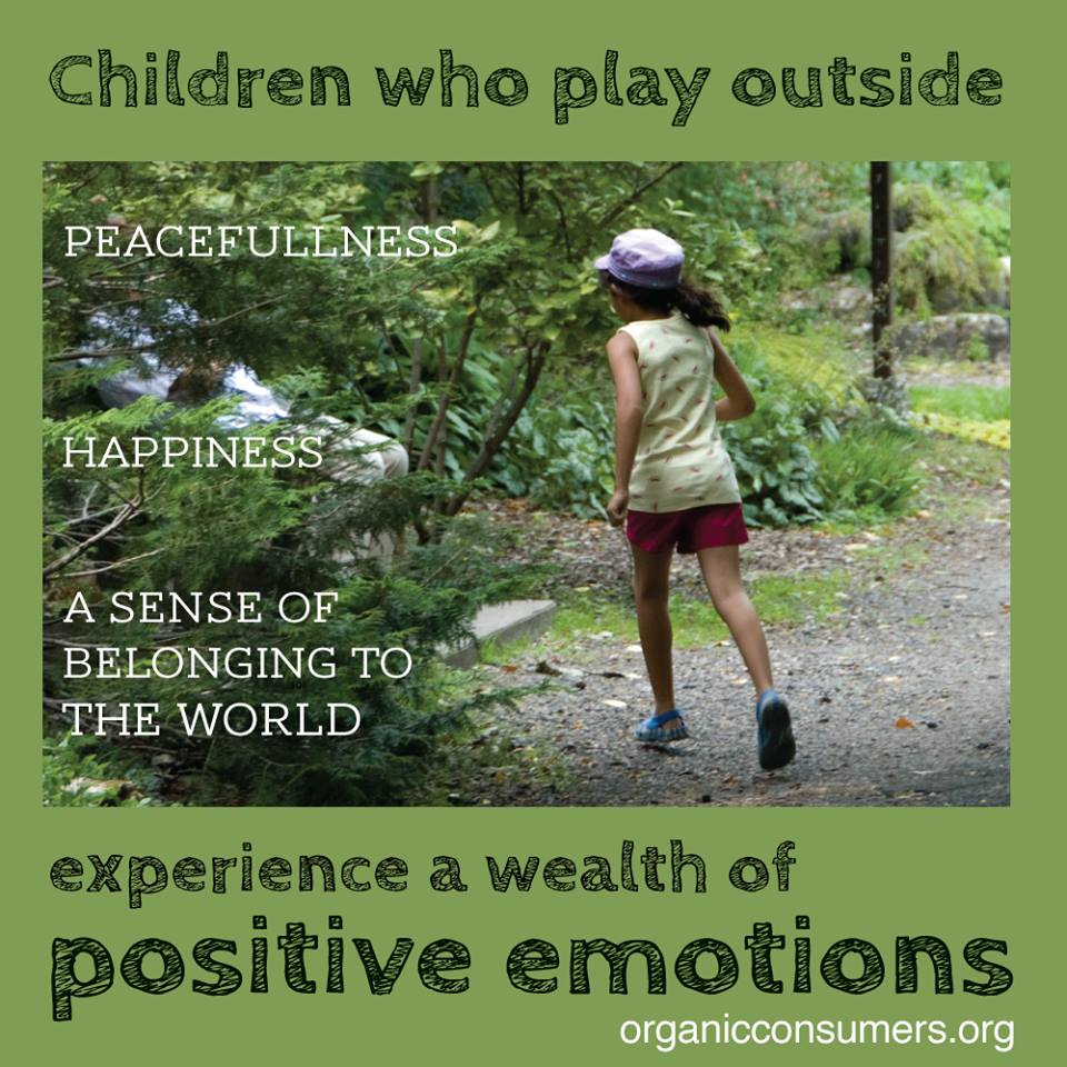 Children Who Play Outside
