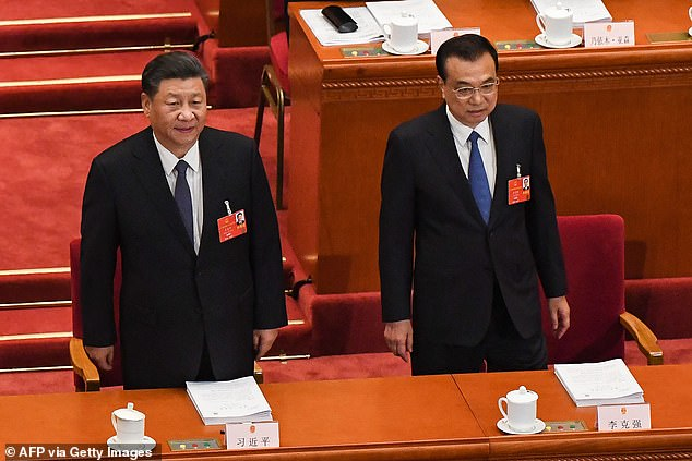 Chinese President And Premier