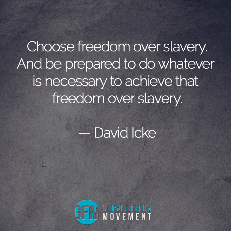 Choose Freedom Over Slavery