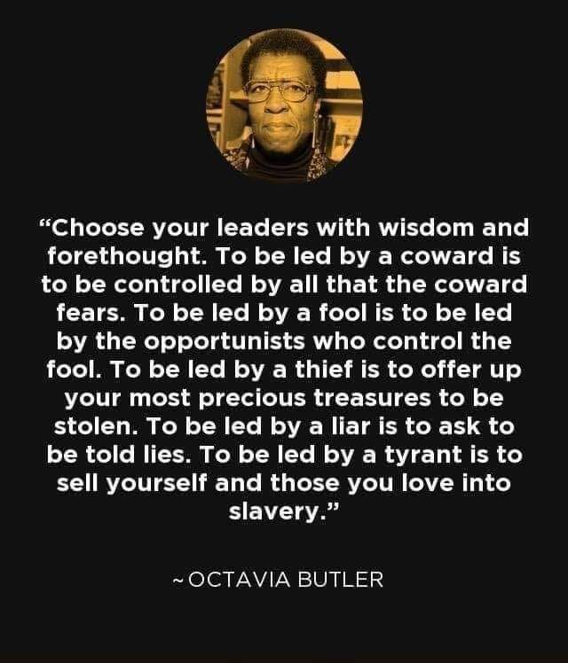 Choose Your Leaders Well