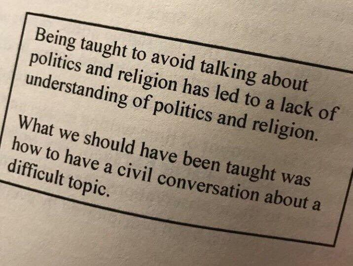 Civil Conversation