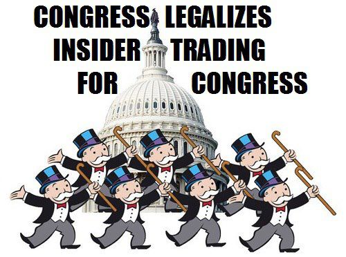 Congress Legalises Insider Trading