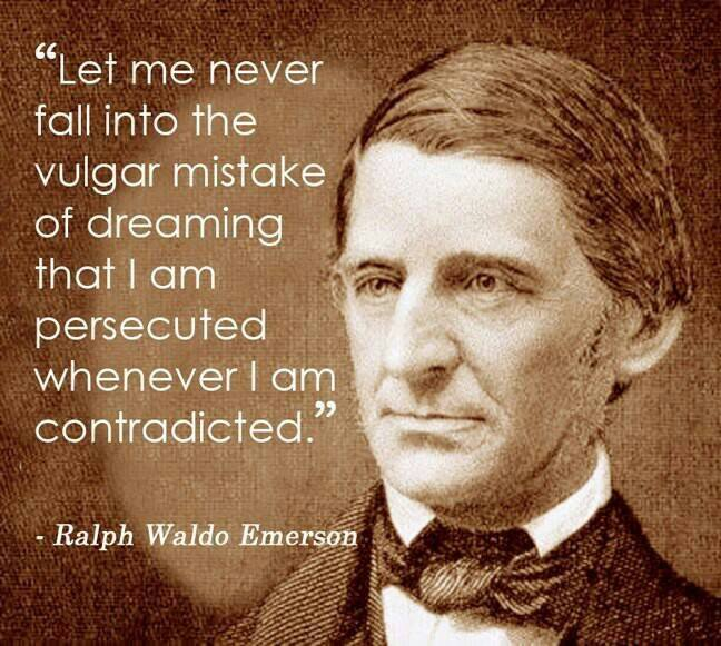 Contradiction Is Not Persecution