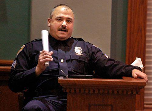 Cop Testimony