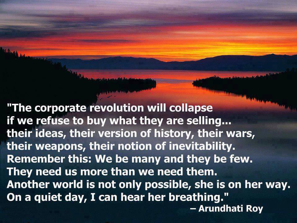 Corporate Revolution Is Collapsing
