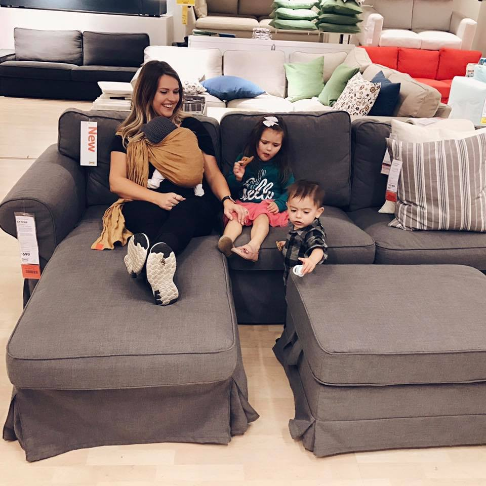 Couch Shopping Human Traffic Targets