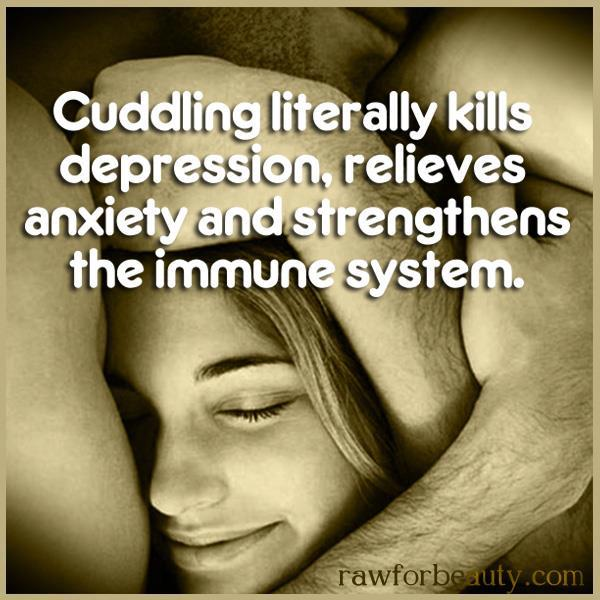 Cuddling Kills Depression