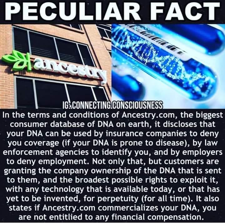 DNA Cautions