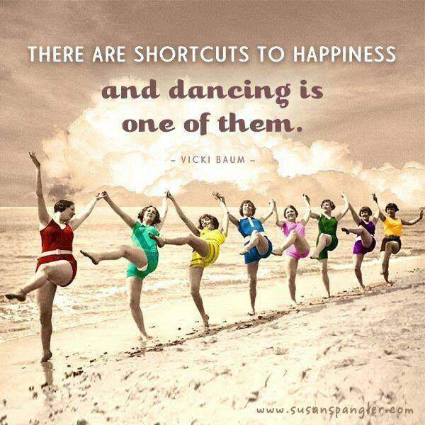 Dancing Is A Shortcut To Happiness!