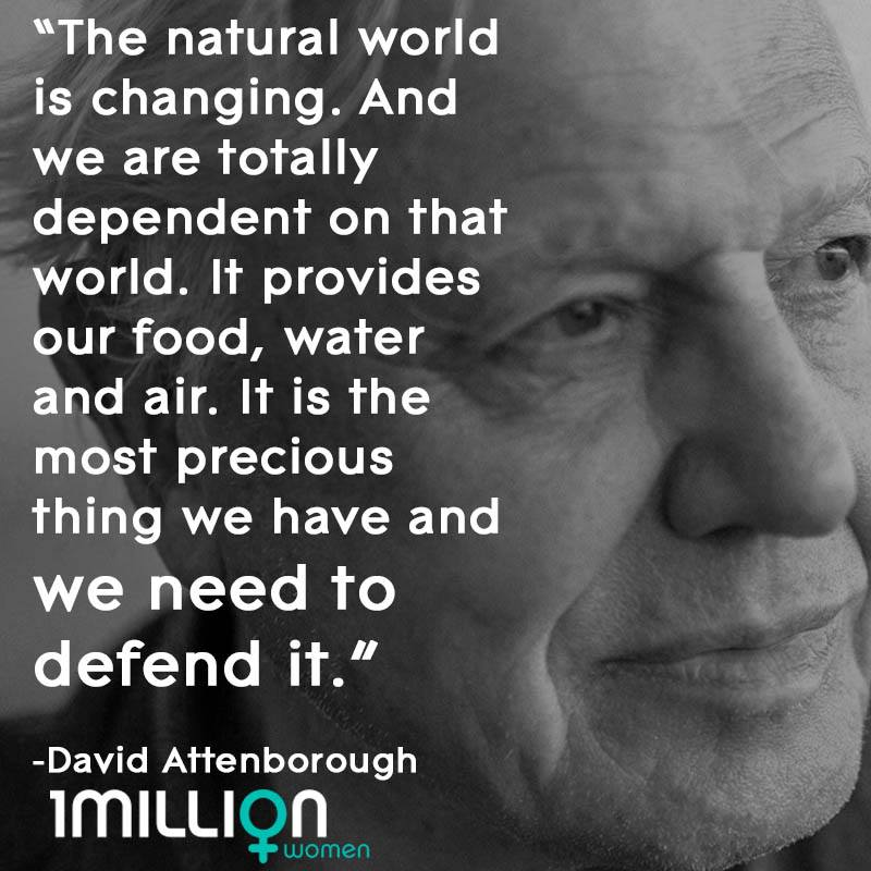 David Attenborough - Our World Is Changing