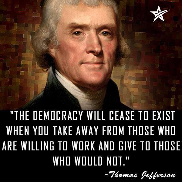 Democracy Ends When