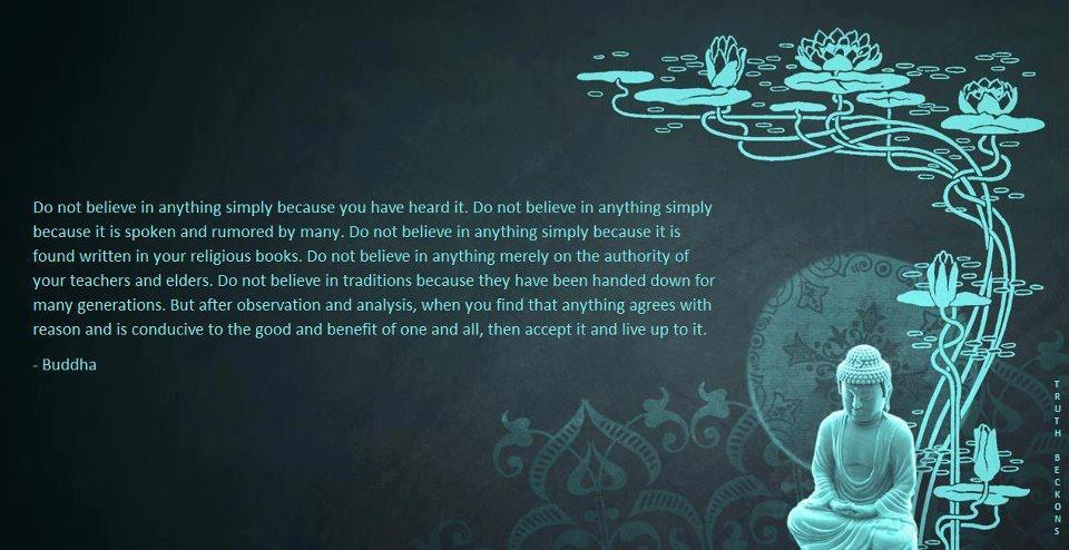 Do Not Believe...