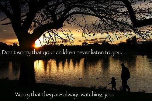 Do Not Worry That Your Children Do Not Listen To You