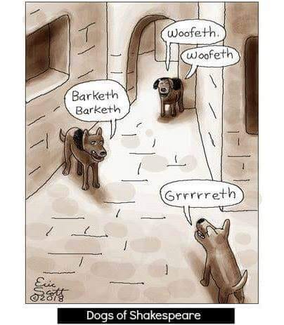 Dogs Of Shakespeare