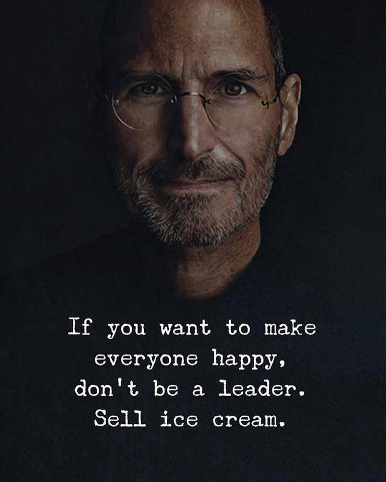 Don't Be A Leader
