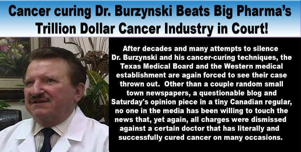 Dr Burzynski Beats Big Pharma Again