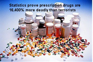 Prescription Drugs 16,400% More Dangerous Than Terrorists