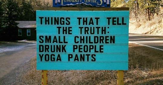 Drunks Kids And Yoga Pants