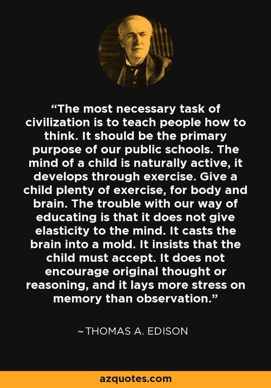 Edison On Education