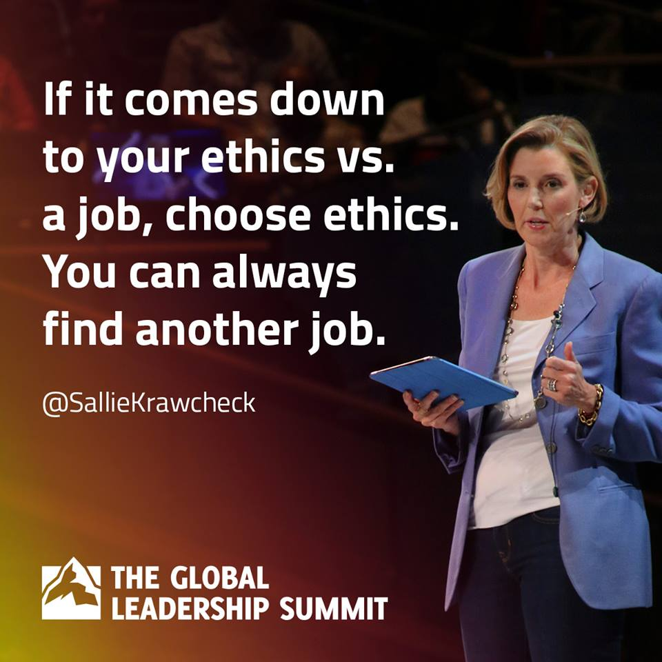 Ethics Versus Job