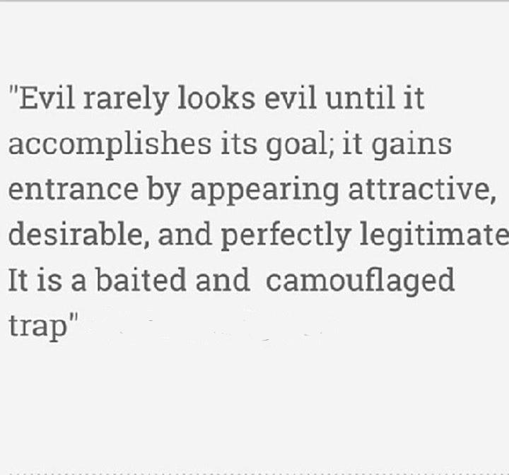 Evil Hides