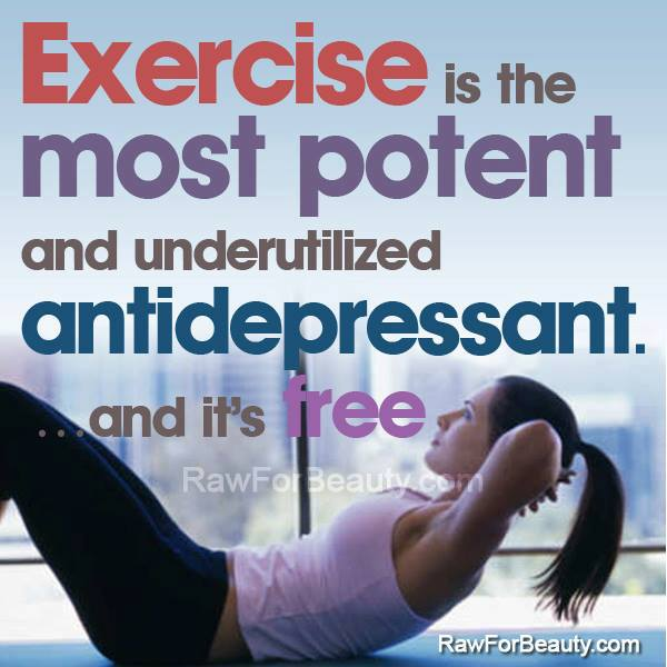 Exercise Is The Most Powerful Antidepressant